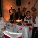Mr Andrey and Mrs Olga Pelyshok and Mr and Mrs Vilyotnik