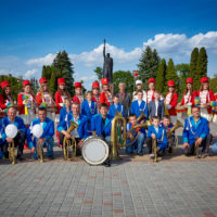 National brass band of the village of Yuskovtsy