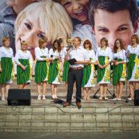 Володимир Андрощук, ведучий свята